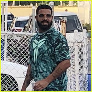 Drake Visits Rihanna's Childhood Home in Barbados