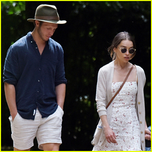 Emilia Clarke Hangs Out with Assistant Director Tom Turner