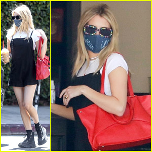 Emma Roberts Steps Out for Coffee Amid Pregnancy Rumors