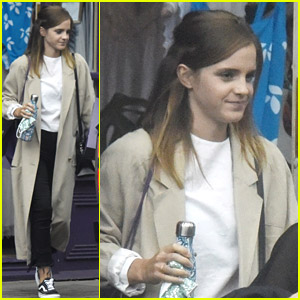 Emma Watson Goes Lingerie Shopping with a Friend in London