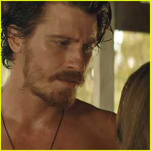 Kelly Macdonald Snaps a Shirtless Photo of Garrett Hedlund in New 'Dirt Music' Clip! (Exclusive)