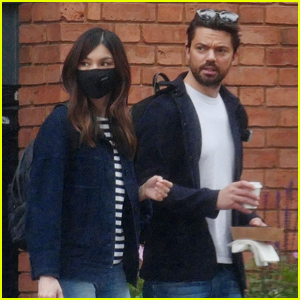 Gemma Chan & Dominic Cooper Pick Up Lunch to Go in London