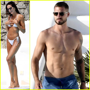 Izabel Goulart & Fiance Kevin Trapp Bare Their Amazing Bodies While on Vacation for His Birthday