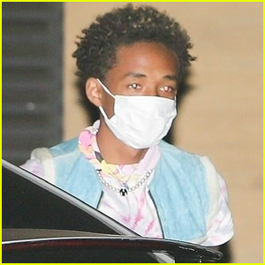 Jaden Smith Grabs Dinner with Friends After Beach Day with The Biebers