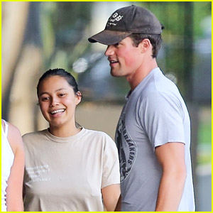 Hollywood's Jake Picking Gets Lunch with Girlfriend Fiona Barron!