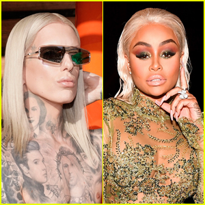 Jeffree Star Poses for Blac Chyna Photo Shoot Amid Backlash & Social Media Absence