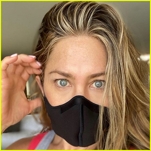 Get the Face Mask Jennifer Aniston Is Wearing for Under $40!