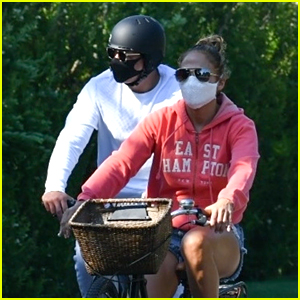 Jennifer Lopez Urges People To Vote In Her Fourth of July Message Before Taking a Bike Ride With Alex Rodriguez