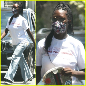 Jodie Turner-Smith Spends the Day Running Errands in L.A.