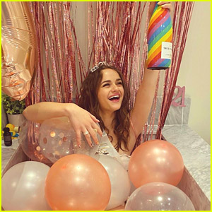 Joey King Pops a Bottle of Champagne on Her 21st Birthday!