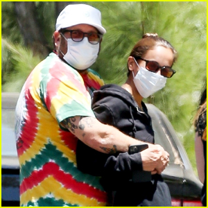Jonah Hill Cozies Up to Fiancee Gianna Santos While Out in L.A.