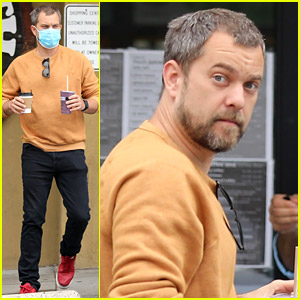 Joshua Jackson Goes On a Smoothie & Coffee Run in L.A.
