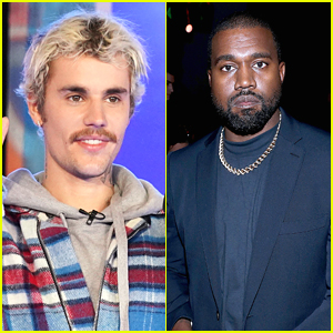 Kanye West Gets A Visit From Justin Bieber in Wyoming