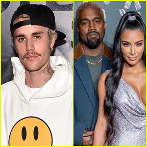 Justin Bieber Encouraged Kanye West to Text Kim Kardashian Back