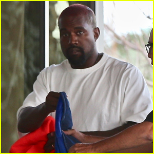 Kanye West Makes Quick Trip to Hospital in Wyoming