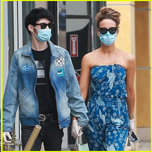 Kate Beckinsale & Boyfriend Goody Grace Hold Hands While Shopping in Santa Monica