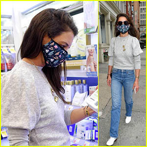 Katie Holmes Uses This Facial Cleanser - And It's Under $15!