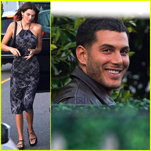 Kendall Jenner Steps Out For Dinner With Fai Khadra