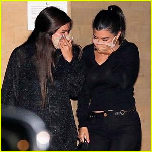 Kourtney Kardashian Gets Dinner with TikTok Star Addison Rae Again