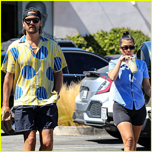 Kourtney Kardashian & Scott Disick Step Out Together to Grab Coffee