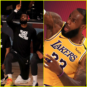 NBA Restarts with Nod to Black Lives Matter, LeBron James Pays Tribute to Kobe Bryant