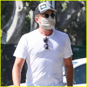 Leonardo DiCaprio Heads Out on Sunny Afternoon Stroll