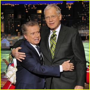 David Letterman Emotionally Mourns the Death of Fellow TV Host & Friend Regis Philbin