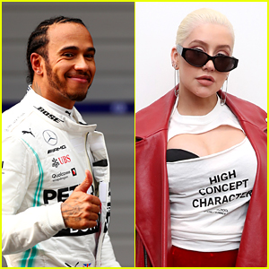 Lewis Hamilton Reveals He Was the Secret Collaborator on Christina Aguilera's 'Liberation'!