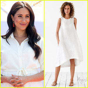 Meghan Markle Wore This Chic $76 Linen Dress & You Can Get it Too!