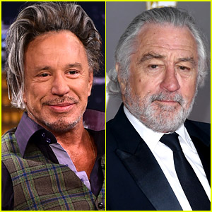 Mickey Rourke Reignites His 30-Year Feud with Robert De Niro