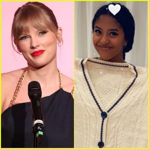 Taylor Swift Sends Kobe Bryant's Daughter Natalia 'Folklore' Cardigan!