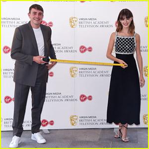 Normal People's Paul Mescal & Daisy Edgar-Jones Stay Six Feet Apart During Red Carpet Return!