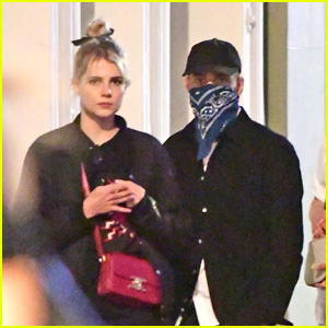 Rami Malek & Lucy Boynton Enjoy a Night Out in London
