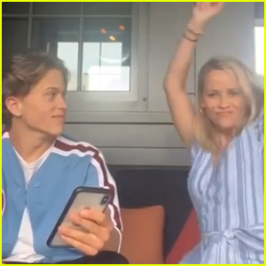 Reese Witherspoon Embarrasses Son Deacon Phillippe While Celebrating His Debut Song - Watch!