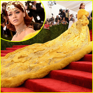 Rihanna Felt Like a 'Clown' at Met Gala 2015: 'People Are Gonna Laugh At Me'