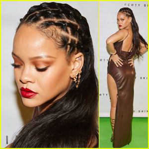 Rihanna Stuns at Virtual Pre-Launch Party for Fenty Skin