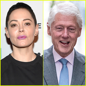 Rose McGowan Calls for Bill Clinton to Be Arrested After Ghislaine Maxwell's Arrest