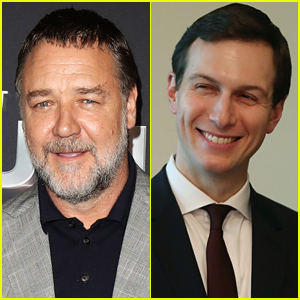 Russell Crowe Got Jared Kushner's Help Playing Roger Ailes After Meeting at This Celeb's Birthday Party