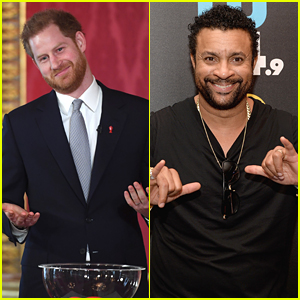 Here's What Prince Harry Did When He First Met Shaggy