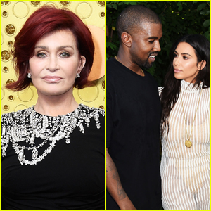 Sharon Osbourne Calls Out 'Tone Deaf' Kanye West for Bragging About Kim Kardashian's Wealth Amid Pandemic