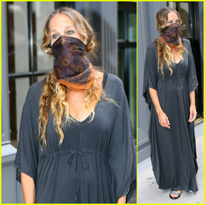 Sarah Jessica Parker Celebrates Launch of NYC Flagship Shoe Store Amid Pandemic