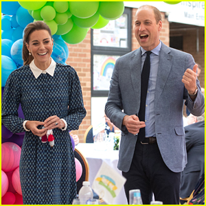 Prince William & Kate Middleton Host A Tea Party To Celebrate NHS's Anniversary
