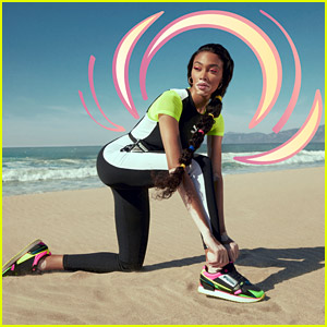 Winnie Harlow Models Puma's Hot New Sneaker - See the Campaign!