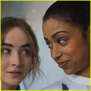 Sabrina Carpenter & Liza Koshy Star in 'Work It' - Watch the Trailer!