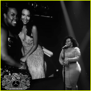 Amber Riley Sings a Tribute for Naya Rivera on 'Jimmy Kimmel Live' - Watch Now!