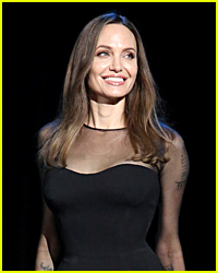 Angelina Jolie Spotted on Rare Outing with All Six Kids