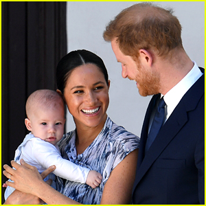 Prince Harry & Meghan Markle's Son Archie Will Automatically Become a Prince When Prince Charles Becomes King