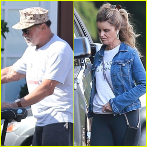 Arnold Schwarzenegger & Maria Shriver Step Out After Becoming Grandparents!