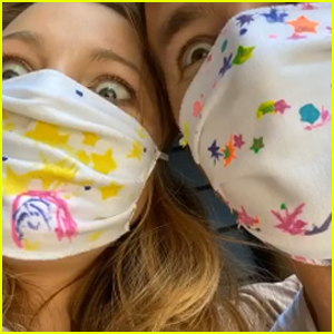Blake Lively & Ryan Reynolds Tease That They'll 'Embarrass' Their Daughters With Funny Mask Selfie!