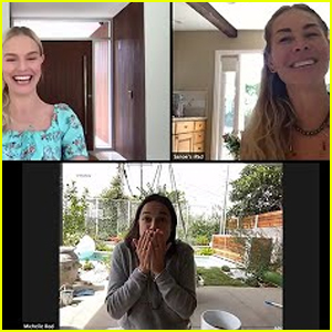 Kate Bosworth, Michelle Rodriguez & Sanoe Lake Have a 'Blue Crush'' Reunion - Watch!